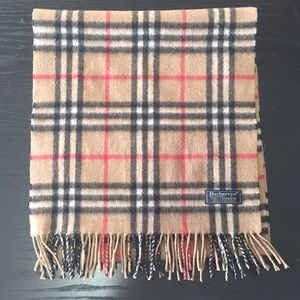 💯% Authentic Burberry Cashmere Scarf